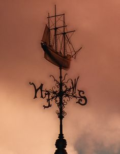 Sailing Ship Weather Vane (Bristol Harbourside) | Flickr - Photo Sharing!