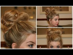 This gal's videos are so fun and she really knows style. Check out her channel and your introductory video is: How To: Simple Messy Bun Tutorial