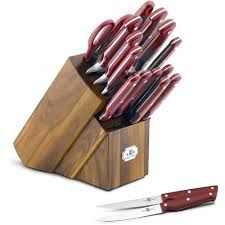 paula dean red knife block - Google Search
