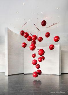 Wall Sculptures, Sculpture Art, Xavier Veilhan, Bühnen Design, Om Art, Modern Art, Contemporary Art, Instalation Art, Suspension Design
