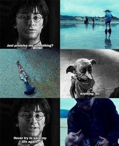 Here lies Dobby, a free elf.