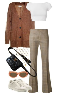 """""""Untitled #3444"""" by angieswardrobe ❤ liked on Polyvore featuring Étoile Isabel Marant, Ultrà chic, Helmut Lang, Dries Van Noten, Fendi, Chanel and ASOS"""