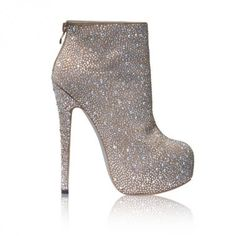 silver sparkly boots with clear platform photo Kota's photos ...