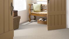 Nautical Charm Carpet by Mohawk | Linen Canvas Color (6425)