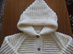 Ravelry: Project Gallery for Hooded Jacket pattern by Peter Pan