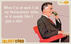 Work Quote : haha