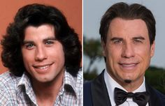 Los famosos antes y ahora                                                       …