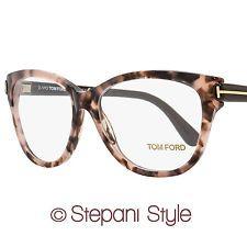 815a429725 Tom Ford Oval Eyeglasses TF5287 074 Size  55mm Rose Vintage Havana Brown  FT5287