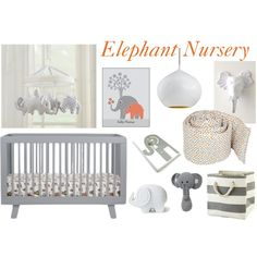 cute, gender neutral nursery idea