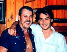 Johnny Depp & his Dad