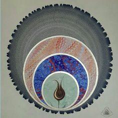 İlgili resim Ebru Art, Turkish Art, Arabic Art, Marble Art, Mandala Design, Pattern Design, Abstract, Istanbul, Projects