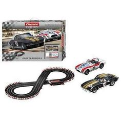 Carrera Evolution Fast Classics 2 25215 Slot Car Racing Race Set NEW
