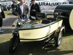 ural motorcycle.  a motorcycle a boat and a camper two sets of clothes, what else would you need?