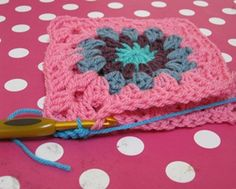 a nice tutorial on how to crochet granny squares together. yay! This is on her blog June 10, 2011.