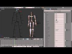 Blender Motion Capture Addon - Tutorial 1 - Basic Retargeting - YouTube