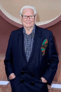Pierre Cardin Photos Photos - Pierre Cardin, here at age 93, attends the Dior Croisiere 2016 at Palais Bulle on May 11, 2015 in Theoule sur Mer, France. - Dior Croisiere 2016 at Palais Bulle in French Riviera