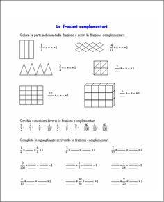 Risultati immagini per frazioni complementari