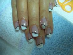 stylish nail Art ideas for women 2015 Cute Nail Art, Cute Nails, Pretty Nails, Nails Art 2016, Stylish Nails, Perfect Nails, Mani Pedi, Nail Care, You Nailed It
