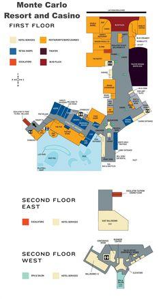 Las Vegas Harrahs hotel map Maps Pinterest Las vegas Hotels