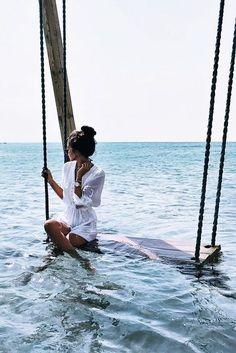 summer | inspiration | watch | sun | beach | ocean | water | Chrono Silver Steel by Kapten & Son | picture by eylmbc