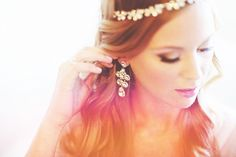Bride, detail jewelry shot