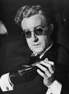 Peter Sellers in Dr. Strangelove.