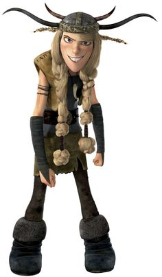 Ruffnut from How to Train your Dragon