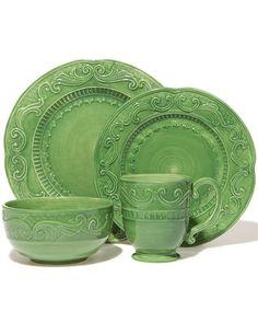 fitz and floyd dinnerware | fitz & floyd place setting