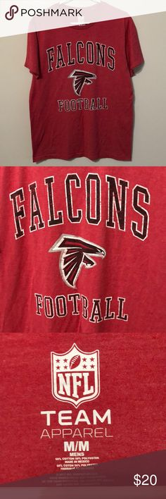 NFL Atlanta Falcons T-Shirt Size Medium NFL Atlanta Falcons T-Shirt Size Medium, Brand New, Never Worn or Used, ⚡️WILL SHIP IN ONE DAY🎄⚡️All bundles of 2 or more receive 20% off. Closet full of new, used and vintage Vans, Skate and surf companies, jewelry, phone cases, shoes and more. NFL Shirts Tees - Short Sleeve