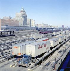 Canadian Pacific Railway Toronto Division John Street Piggyback Yard