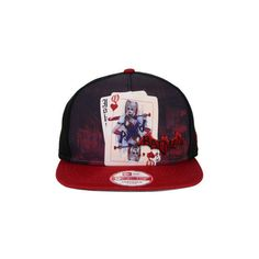 baefd7ad28733 DC Comics Arkham Harley Quinn 9FIFTY Snapback Cap ( 28) ❤ liked on Polyvore  featuring