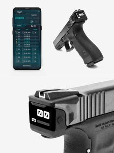 Radetec Smart Slide- Halo-Inspired Radetec Smart Slide for Glock Handguns Shows Exactly How Many Rounds are Left Weapons Guns, Guns And Ammo, Glock Mods, Custom Guns, Custom Glock, Pistol Annies, Hidden Gun, Assault Weapon, Combat Gear