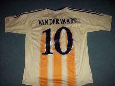 37ba38d33 2004 2005 Ajax Amsterdam Van Der Vaart  10 Adults XL Away Football Shirt  Holland Top
