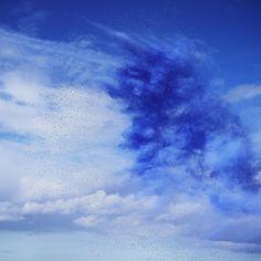 Rob and Nick Carter - RN878, Paint Pigment Photograph, Ultramarine Medium, 2012…