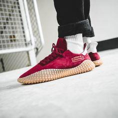 Release Date : April 28, 2018 Adidas Kamanda Burgundy / Gum Credit : Solebox