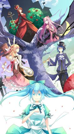 Alice in Musicland Kagamine Rin And Len, Kaito, Vocaloid Wallpaper, Vocaloid Funny, Kamigami No Asobi, Vocaloid Characters, Alice, Otaku, Cosplay
