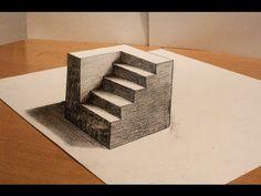 Como es posible? - Dibujo 3D Cilindros Truco - YouTube
