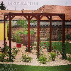 Kertépítés ötletek Gazebo, Pergola, Land Scape, Outdoor Structures, Country, Gardening, Design, Kiosk, Rural Area