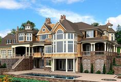 Plan 23413JD: Spectacular Shingle Style House Plan