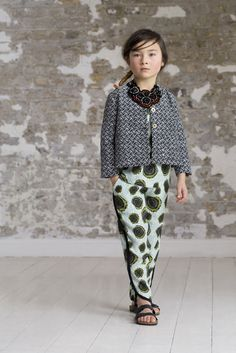 The fabulous jewelled necklaces are also part of the Petit Tribe collection for spring 2015 kidswear