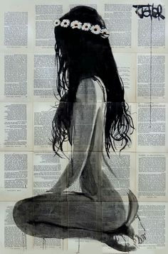 View LOUI JOVER's Artwork on Saatchi Art. Find art for sale at great prices from artists including Paintings, Photography, Sculpture, and Prints by Top Emerging Artists like LOUI JOVER. Newspaper Art, Daisy Chain, Canvas Artwork, Erotic Art, Female Art, Framed Art Prints, Canvas Prints, Amazing Art, Art Girl