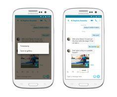Sabías que Ya es posible guardar los mensajes de video de Skype en la app para Android