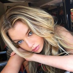 "Stella Maxwell - ""I'd probably do a little straight-across micro bang. Really…"