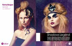 Shadows Legend on Behance mua & hair fanny burgos  fannyburgos.com