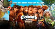croods -Now this is Family entertainment at its best.. 8 out of 10   Cave family gets a reality life check.   Is there more to life outside their cave? Watch and   find out.It's fun. Has great one liners. Liked by all ages, A must see.