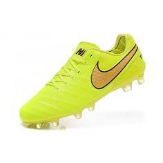 Neu Nike Tiempo Legend VI FG Herren Gelb