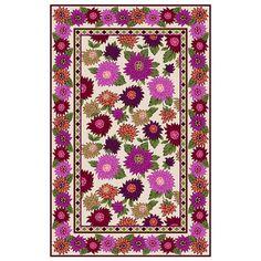 Living Room Hand Hooked From 100% Virgin Wool, The Hello Dahlia Rug From. Vera  BradleyDahliaJoss ...