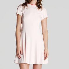 2b7730a6f8 Ted Baker Val Pink Skater Dress Rose Gold Sz 8 Very cute skater dress! Fully