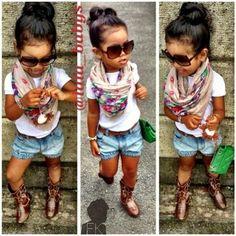 Little girls fashion, kid fashion