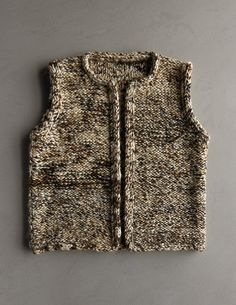 So many great free knitting patterns at Purl Soho, like this Drift Vest. Now all I need to do is learn how to get started. Knitting Patterns Free, Knit Patterns, Free Knitting, Baby Knitting, Free Pattern, Knit Vest Pattern, Purl Soho, Knit Jacket, Lana